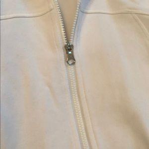 lululemon athletica Jackets & Coats - Lululemon White pullover size 8